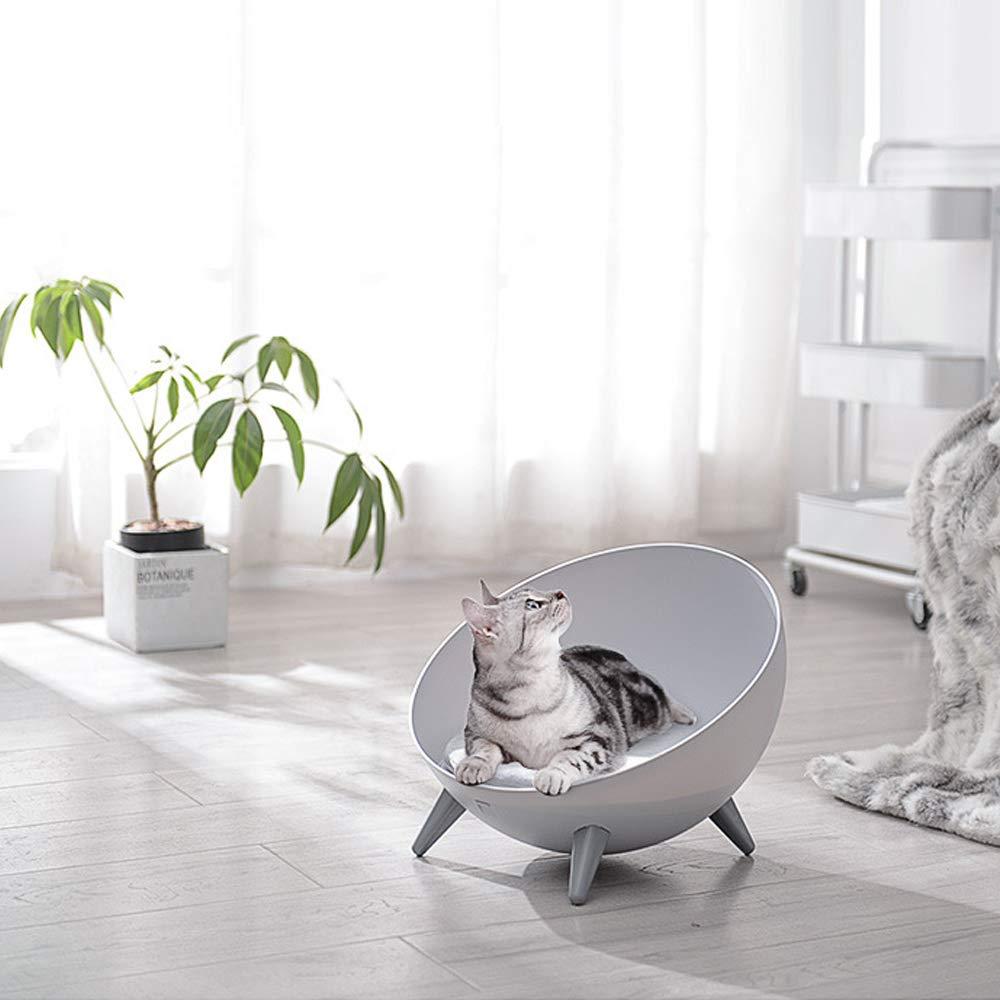 Creative hemispherical Spherical Plastic cat House pet semi-Closed Winter Warm nest