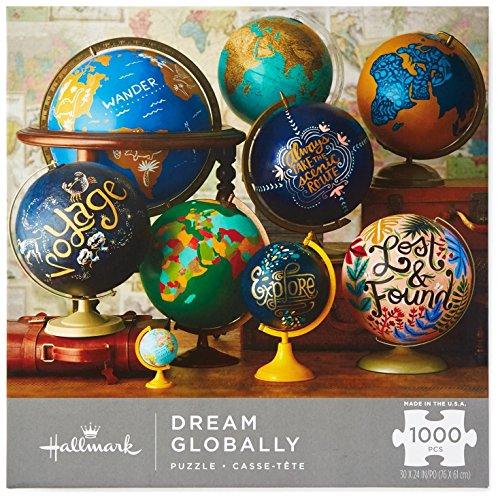 Hallmark Dream Globally 1000-Piece Puzzle Puzzles & - Dreams Piece Puzzle 1000