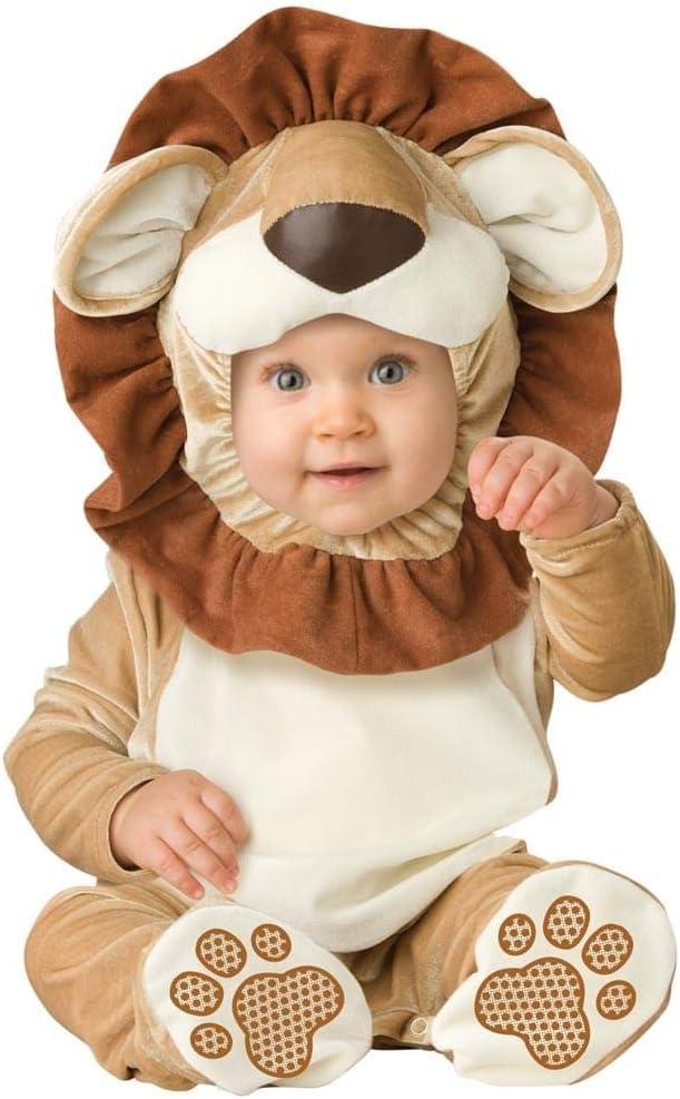 In Character - Disfraz de león para bebé, talla S 6-12 Meses