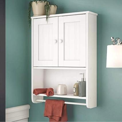 Amazon Com Bathroom Cabinet Home Kitchen Living Room Wall Mount