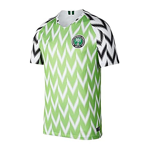 b65718da6 Amazon.com  Real Nigeria Home Soccer Jersey WORLDCUP 2018  Clothing