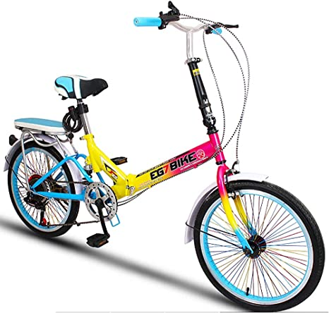 Bicicleta PortáTil PortáTil De Velocidad, Plegable, Mini Rueda De ...