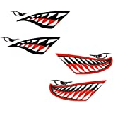 P40 Warhawk Sticker Decal Flying Tiger Shark Teeth Fighter