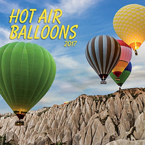 Turner Photo 2017 Hot Air Ballons Photo Wall Calendar, 12 x 24 inches opened (17998940026)