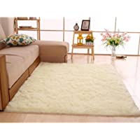 yiiena Super Soft Comfy Rugs for Living Room Bedroom Area Indoor Modern Fluffy Rugs Decor Home Decorative Carpet Floor Shag Rug