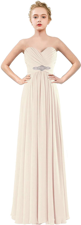VaniaDress Women Sweetheart Long Bridesmaid Dress Evening Prom Gowns V005LF