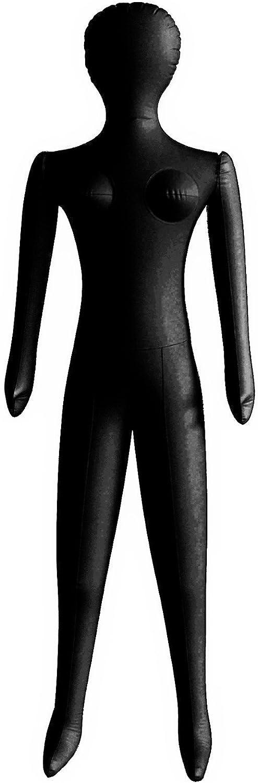 Agent aufbl/ähendes costume gonflable en forme de mannequin Damen One size couleur chair