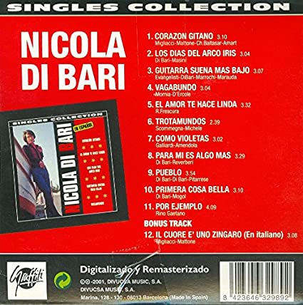 Singles Collection: Nicola di Bari: Amazon.es: Música
