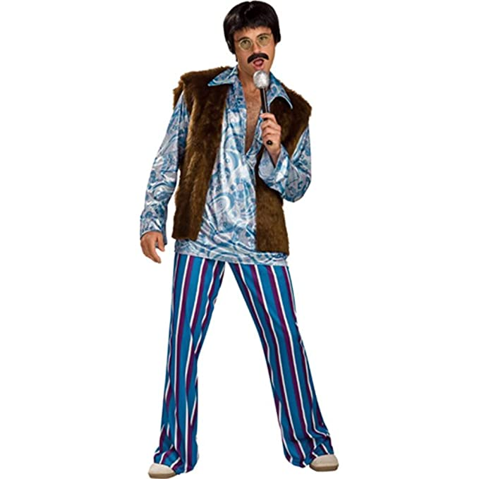1960s Inspired Fashion: Recreate the Look Rockstar Guy Adult Costume $23.91 AT vintagedancer.com