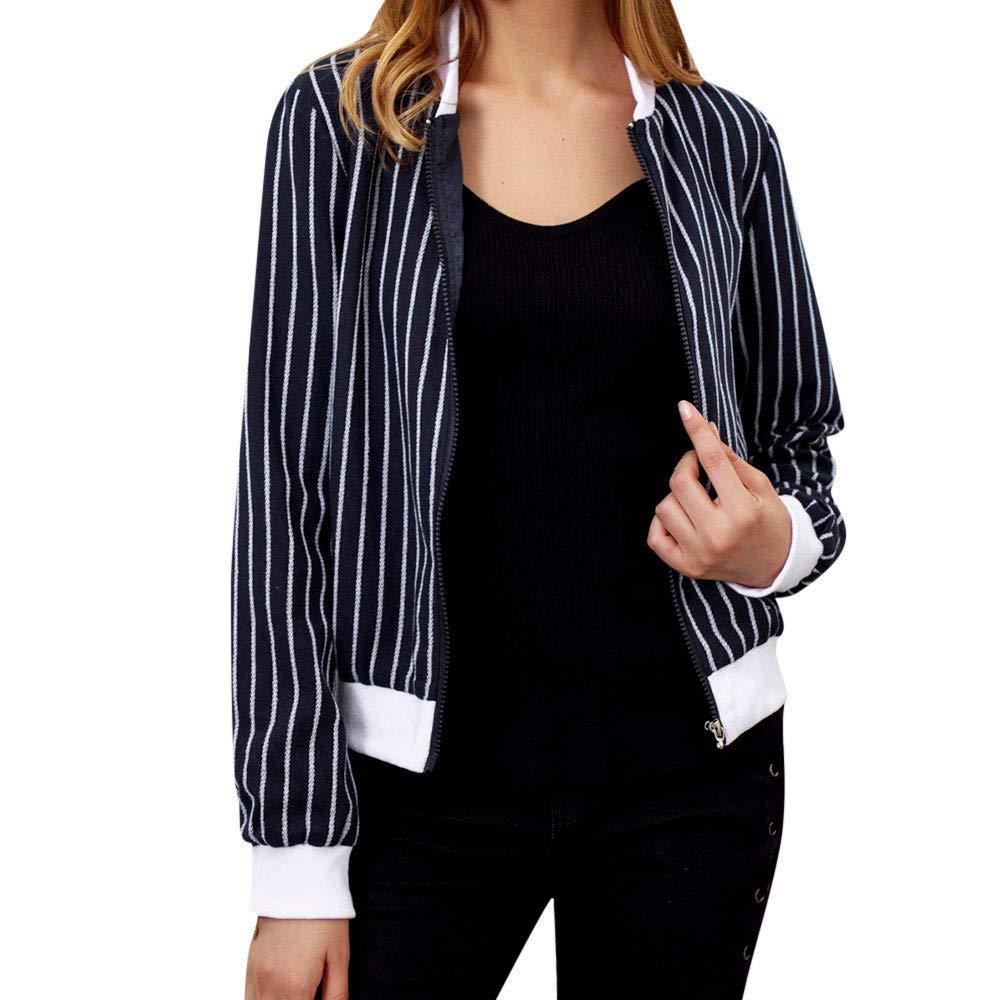 Hemlock Women Baseball Jacket Short Zip Stripe Bomber Jacket Coat Retro Cardigan Coat Cropped Blazer Pullovers