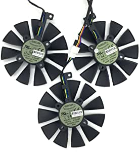 Amazon.com: 3 Pcs/lot t129215su tarjeta de video ventilador ...