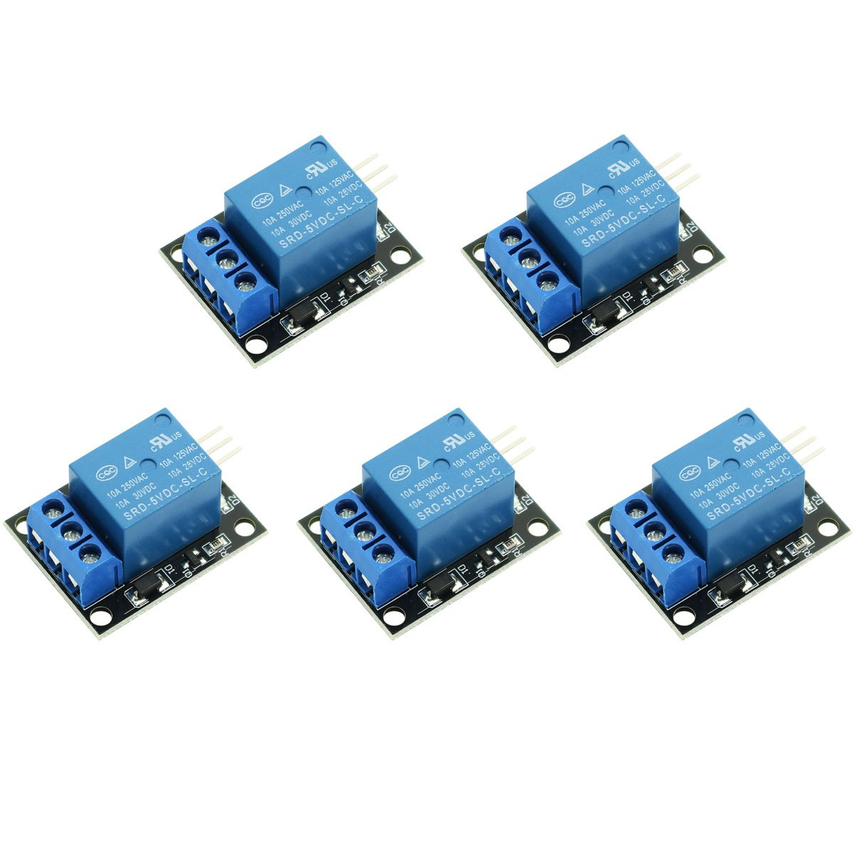 2-Pack DC 5V 8 Channel Relay Module with Optocoupler Expansion Board for Arduino UNO R3 MEGA 2560 1280 PIC AVR DSP ARM STM32 Raspberry Pi