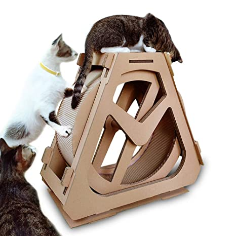 YF - Cinta de Correr de Papel Corrugado para Mascotas: Amazon.es ...