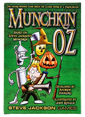 Munchkin Oz Card Game Steve Jackson Games SJG 4431 Wizard Of