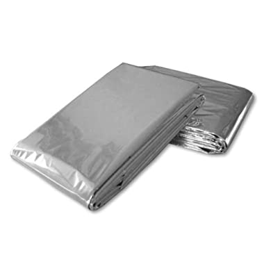 Mylar Science Purchase Emergency Thermal Blankets (5 Pack)