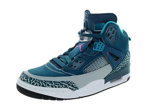Nike - Jordan Spizike - Color: Azul marino-Celeste-Gris - Size: 45.0EU: Amazon.es: Zapatos y complementos