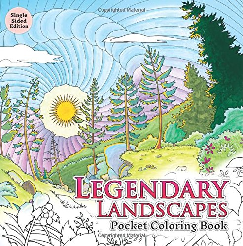 Legendary Landscapes: Pocket Coloring Book