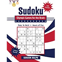 Sudoku Olympic Games for the Brain: 180 Large Print Puzzles - Easy to Hard (The Brain Books)