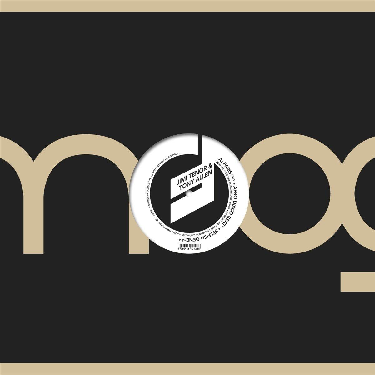 Vinilo : TENOR, JIMI / ALLEN, TONY - Moogin At The Cafe (oto Live Series) (LP Vinyl)
