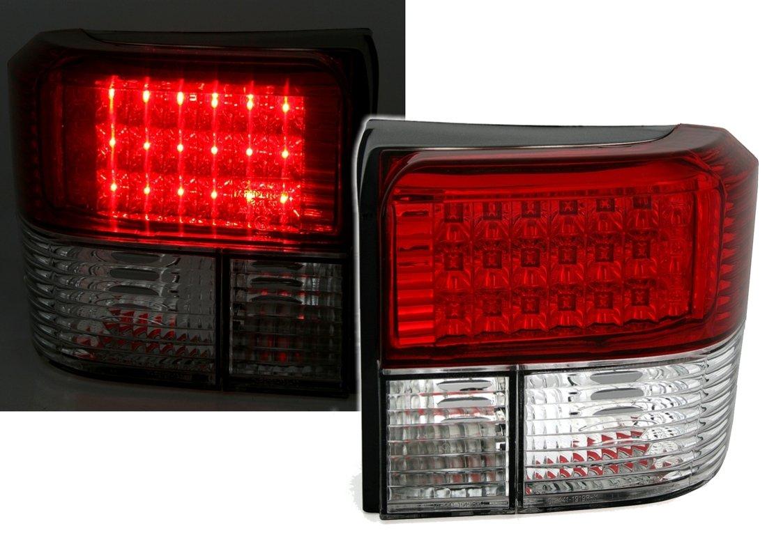 AD Tuning GmbH & Co. KG 960421 Kit Luci Posteriori a LED, Vetro Trasparente Rosso/Bianco