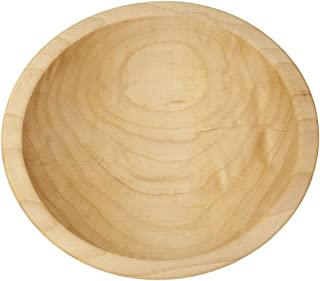 """product image for Thick Rim Wooden Bowl, 5-6"""" (Maple Wood)"""