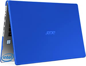 """mCover Hard Shell Case for 15.6"""" Acer Aspire 5 A515-43 Series (with AMD CPU) Windows Laptop – A515-AMD Blue"""