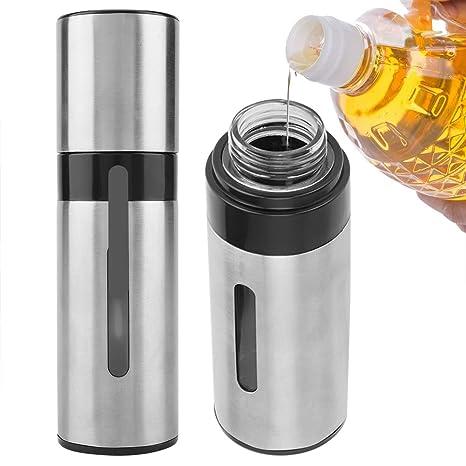 Botella de aceite en spray para asador de aceite de acero ...