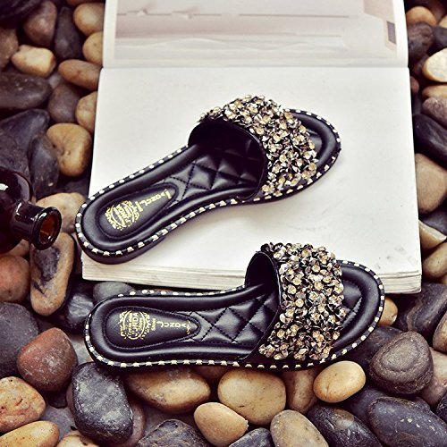 cool basso tacco tacco pantofole Antislittamento Donyyyy Thirty spiaggia five da scarpe puro manuale wq4ROfIR