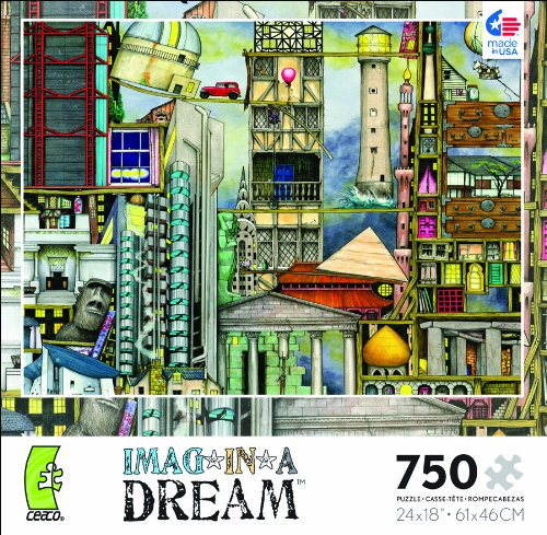 Imag In A Dream Our First World Tour 750 Piece Jigsaw Puzzle by Ceaco