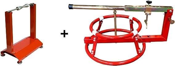 Wbyc Ricambiweiss Auswuchtgerät Reifenmontage Set Auswuchtgerät Wuchtbock Reifenmontiergerät Motorrad Auto