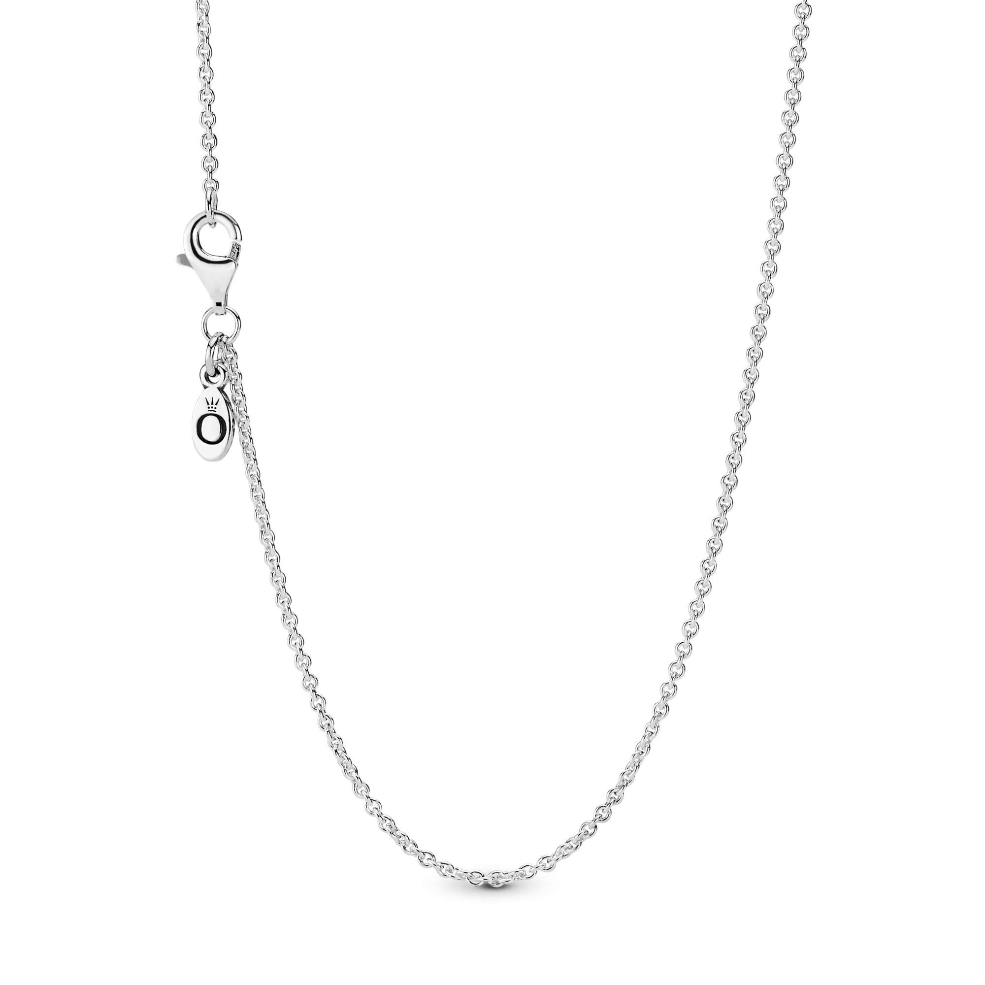 Jewelry Classic Cable Chain Sterling Silver Necklace
