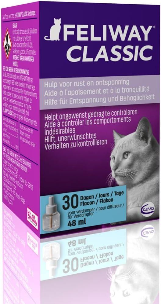 Adaptil Recarga Difusor de Feromonas para Gatos Classic 48 ml Tranquilizante: Amazon.es: Productos para mascotas