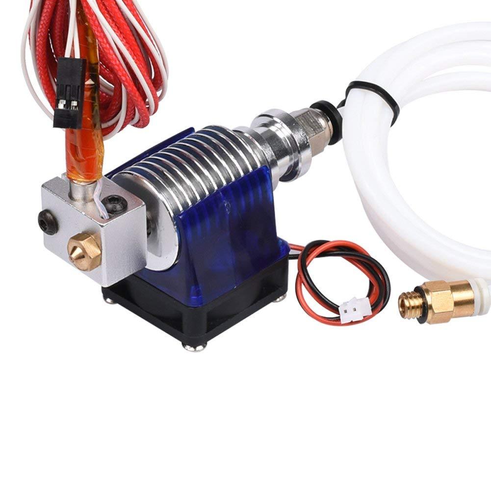 Extracteur dimprimante RepRap 3D Pi/èces Accessoires Zeelo E3D V6 extr/émit/é compl/ète Kit t/ête 1.75mm t/ête dextrudeuse de distance Bowden 12V
