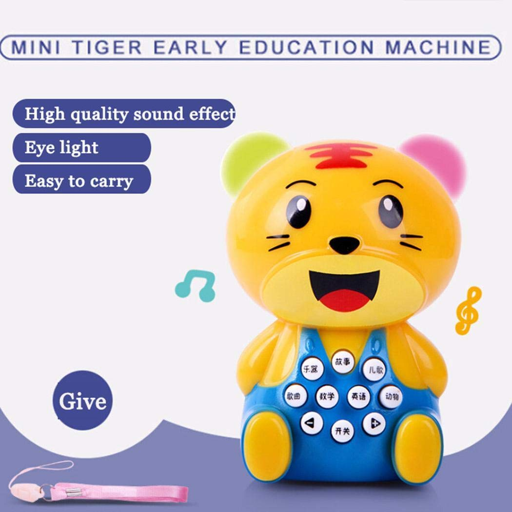 YENJO Mini Cartoon Children's Story Early Learning Machine Kids Education Toys Electronic Systems by YENJO (Image #7)