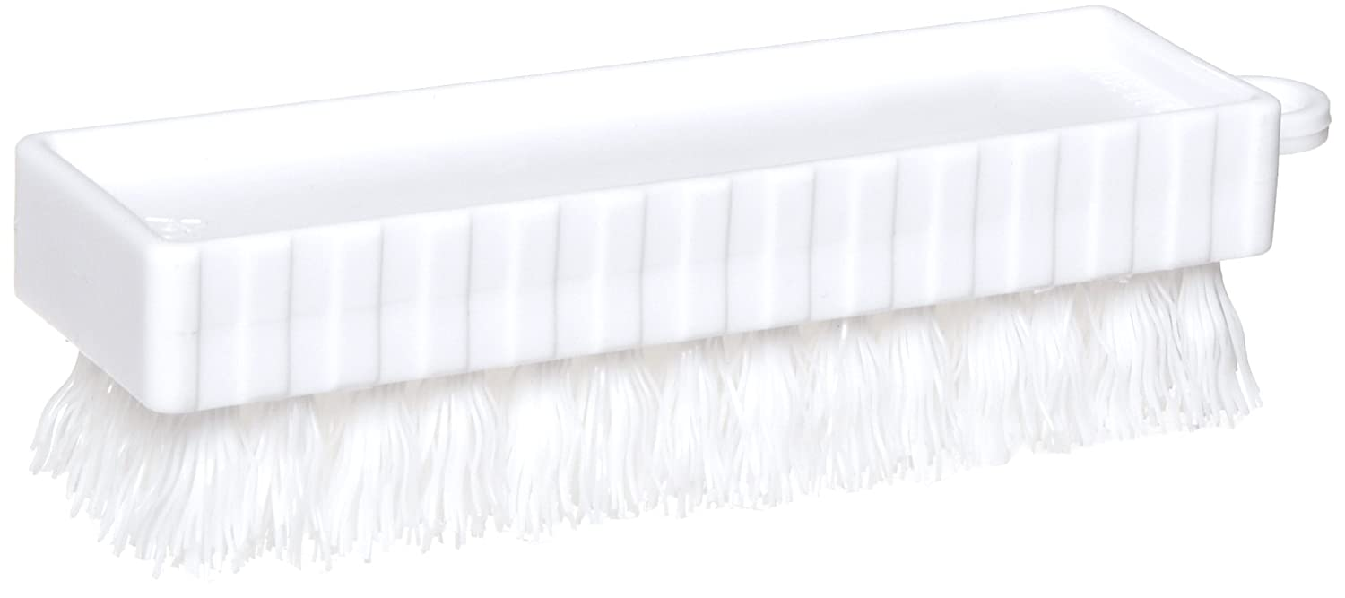 Rubbermaid Commercial FG9B5800WHT Plastic Hand and Nail Brush Polypropylene Bristles White