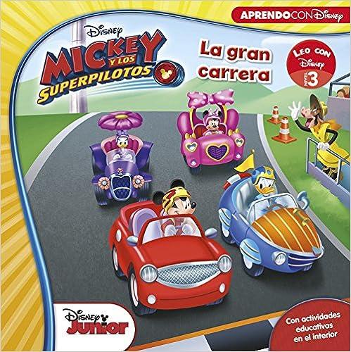 Mickey Y Los Superpilotos. La Gran Carrera PDF Descargar