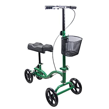 Amazon.com: Orientable rodilla Scooter rodilla rodillo ...