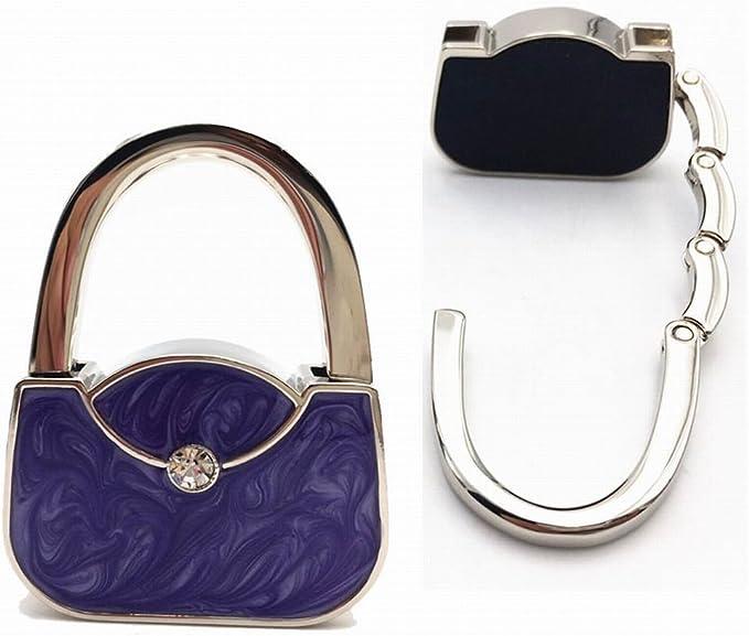 Folding Handbag Hook Purse Hanger Foldable Table Hang Holder Bag Decor Buckle