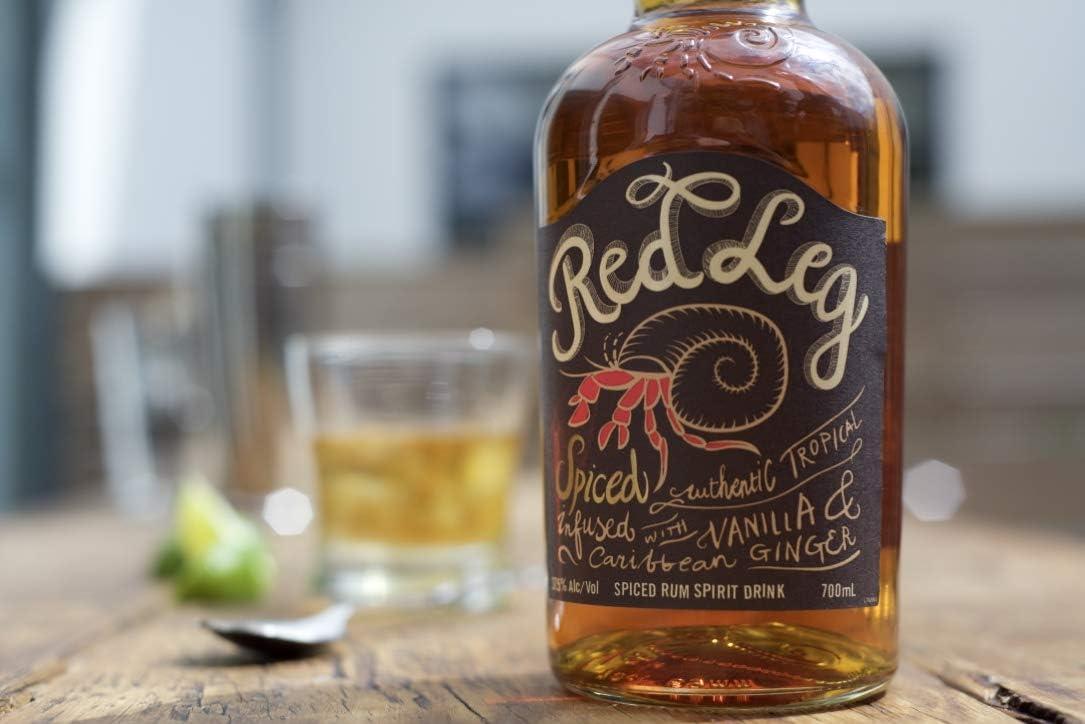 RedLeg Ron con Especias - 700 ml