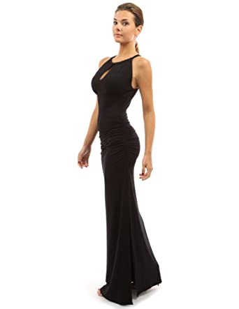 Side slits maxi dress