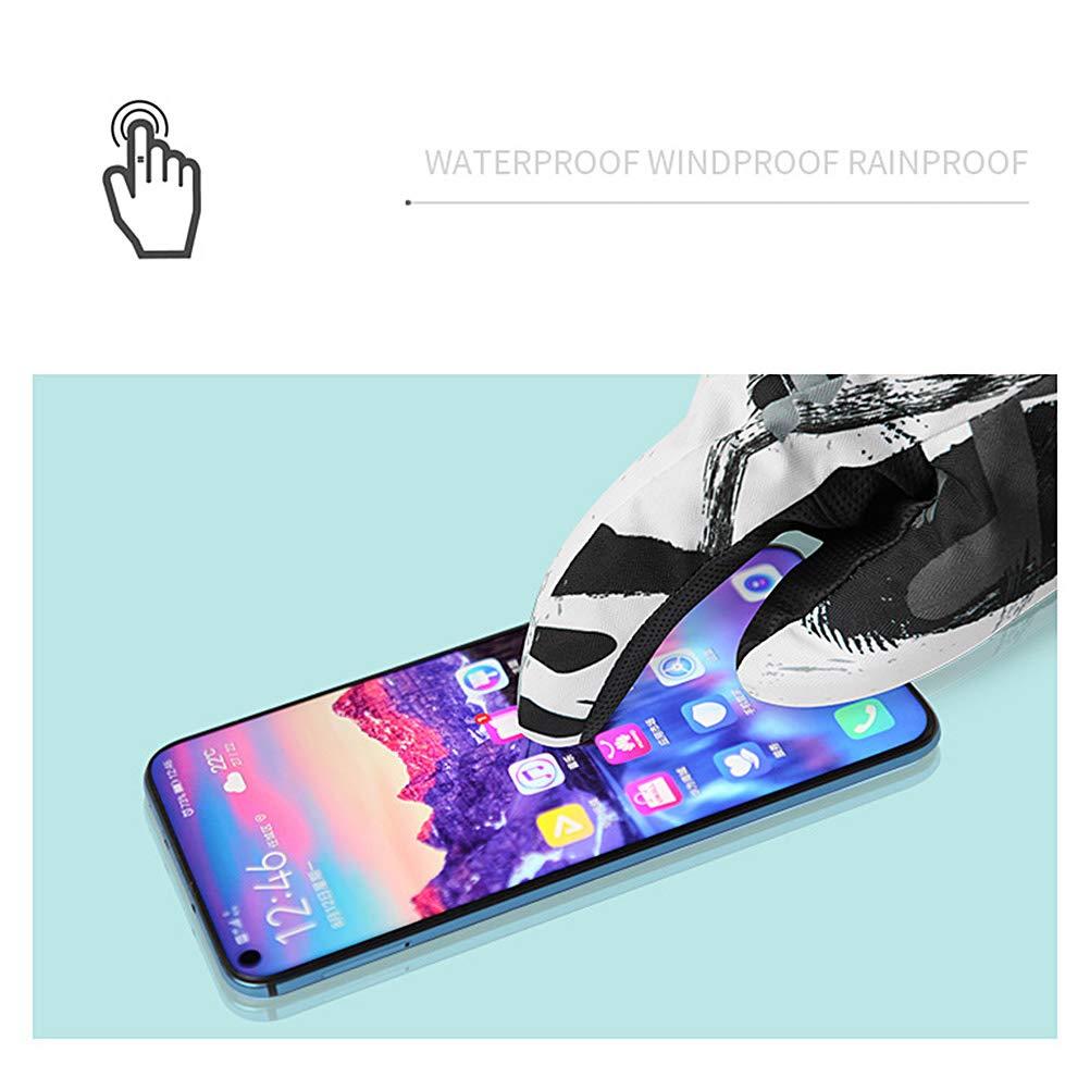 FuYouTa Gants Chauds dhiver Gants /à /écran Tactile Gants Hiver Chaud Tactile Sport Anti-d/érapant Gants dhiver de Ski Chaud Gants Coupe-Vent /écran Tactile Unisexe Hiver imperm/éable /à leau