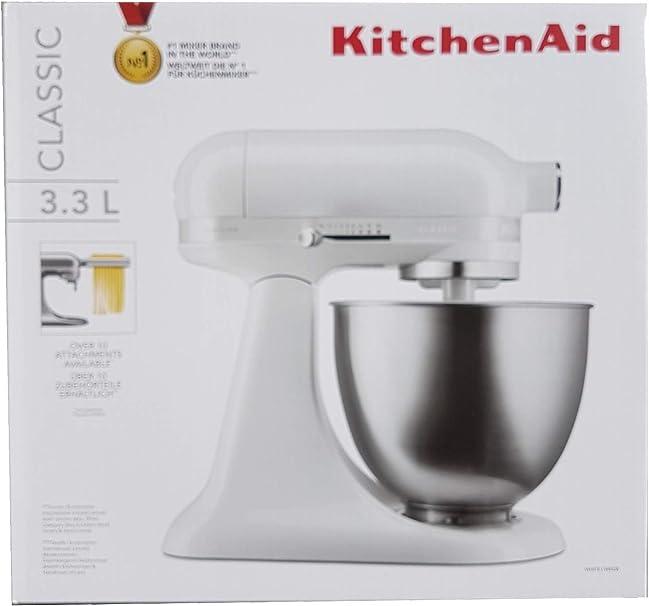 Kitchenaid 5KSM3310XEWH - Robot de cocina, acero: Amazon.es: Hogar