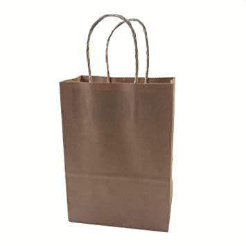 Amazon.com: Jewh [40PCS] Fashionable Kraft Paper Gift Bag ...