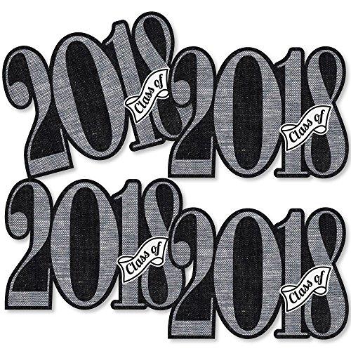 All Star Die Cut - All Star Grad - 2018 Graduation Decorations DIY Party Essentials - Set of 20