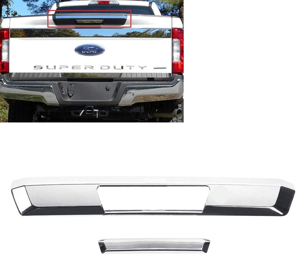 Chrome Left Right Tailgate Door Handle Cover Fit For Ford F150 New