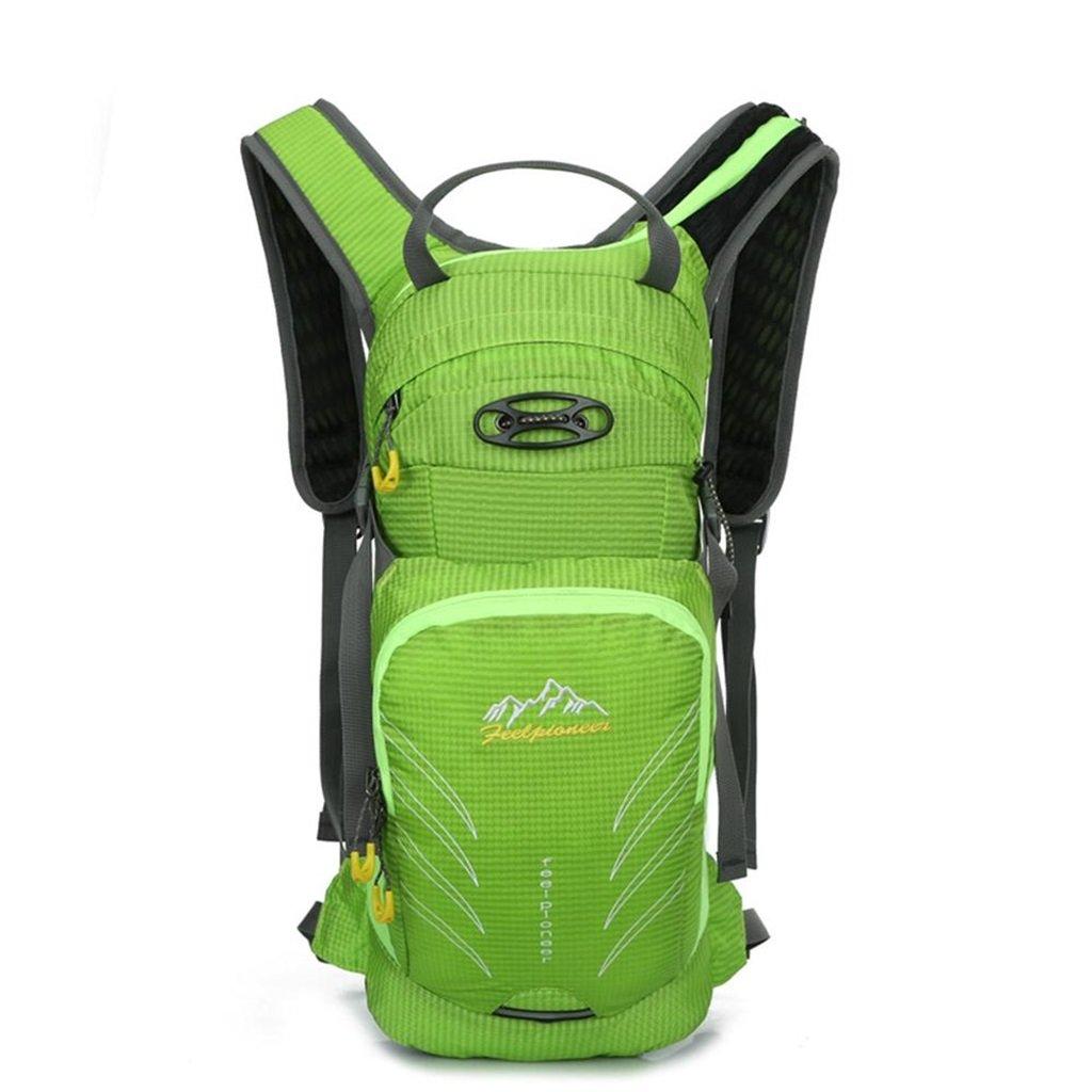 Color : Green Multi-Purpose Bike Travel Bag Riding Bag Men and Women Outdoor Backpack Waterproof Climbing Bag Backpack YONGMEI Outdoor Backpack