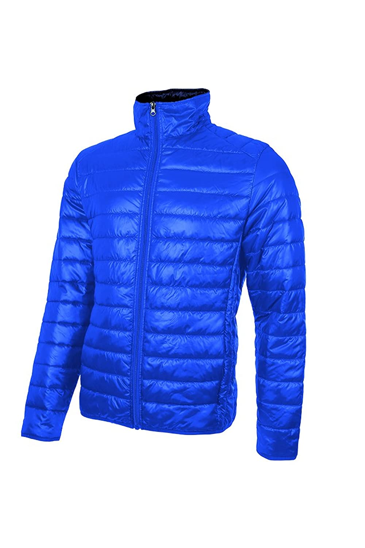 U POWER Men's Down Jacket Blue Blue Neon