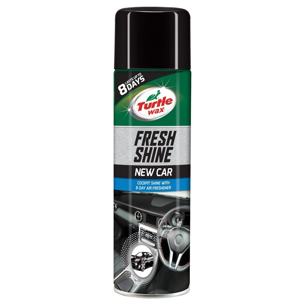 Turtle Wax 1830886 GL Fresh-Spray lucidante per auto, 500 ml