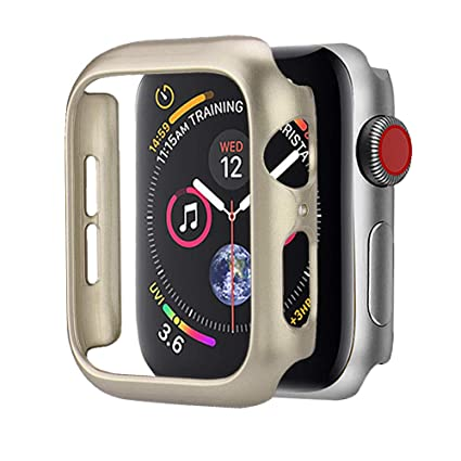 quality design 5780d afcdc BabiQ for Apple Watch 4 44mm Cover Case, Ultra Thin PC Spraying Cases  Protective Bumper Case Cover for Apple Watch 4 44mm