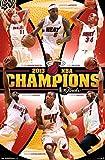 Miami Heat 2013 NBA Champions Sports Poster 22 x 34in